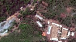KĽDR pred zrakmi novinárov odpálila svoju jadrovú strelnicu