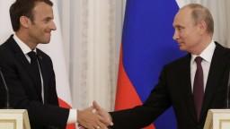 Macron a Putin hovorili o KĽDR i Iráne, chcú spoločný postup