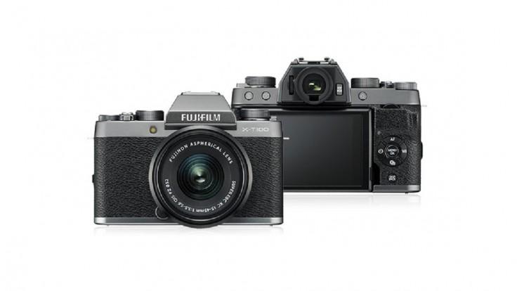Bezzrkadlový fotoaparát Fujifilm X-T100 sa obliekol do retro štýlu