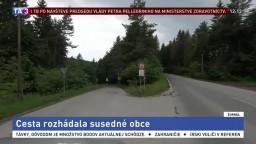 Žilina symbolicky predala novú cestu, obec ju následne uzavrela
