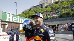 F1: Kvalifikáciu v Monaku ovládol Ricciardo, Verstappen odštartuje posledný