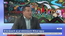 ŠTÚDIO TA3: M. Méndez o krásach aj problémoch Nikaraguy