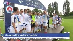 Slovanistky majú double, po pohári pridali aj ligový titul