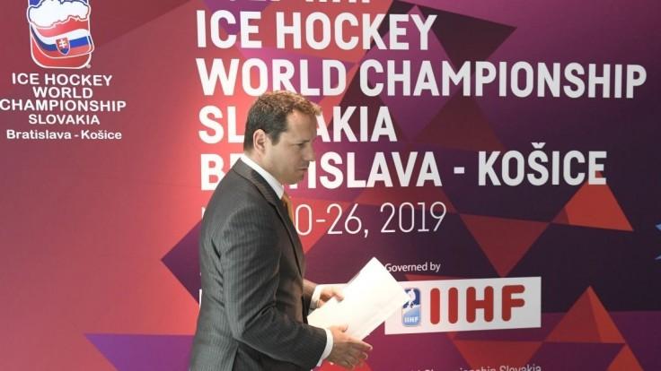 Šéfom Organizačného výboru MS v hokeji bude Nemeček