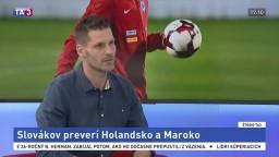 ŠTÚDIO TA3: M. Tomčák o prípravných zápasoch slovenských futbalistov