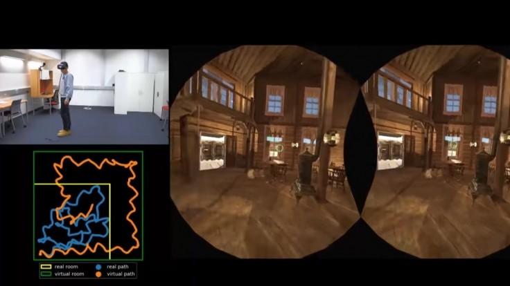 Jednoduchý trik pre neobmedzený pohyb v prostredí VR