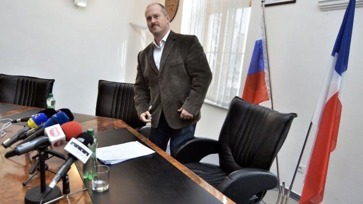 Kotleba chce byť prezidentom, kandidatúru ohlásil v Banskej Bystrici