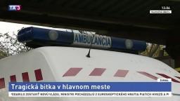 V centre Bratislavy dokopali cudzinca, v nemocnici zomrel