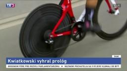Kwiatkowski vyhral prológ, v uliciach Valans bol najrýchlejší