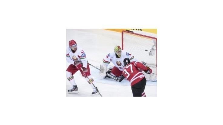 Kanaďania vyhrali H-skupinu, zdolali aj Bielorusov