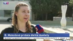 Mokošová nadviazala na medailové pozície, najnovšie si priniesla zo Slovinska