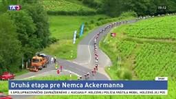 V ďalšej etape cyklistických pretekov bodoval Nemec Ackermann