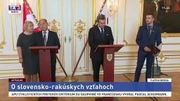 TB A. Danka a W. Sobotku o slovensko-rakúskych vzťahoch