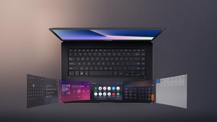 ZenBook Pro 15 s kreatívnym dotykovým displejom namiesto trackpadu