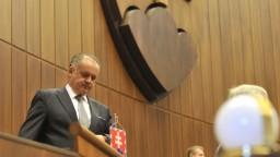 Kiska sa chystá do parlamentu, vystúpi so správou o stave republiky