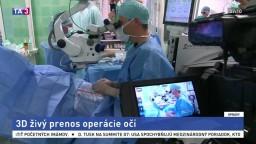 Lekári ukázali detaily z operačnej sály. Pozrite sa, ako operujú oko