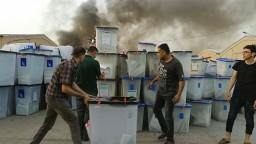 Horel sklad s volebnými lístkami, v Iraku vyzvali na opakovanie volieb