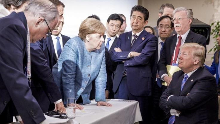 Merkelová bola po stretnutí s Trumpom rozčarovaná a deprimovaná