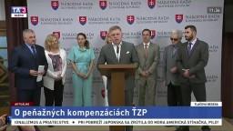 TB R. Fica, J. Richtera a členov Výboru NR SR pre sociálne veci o peňažných kompenzáciách ŤZP