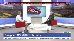ŠTÚDIO TA3: K. Marko o blížiacich sa MS v Rusku