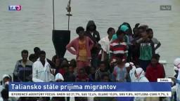 Taliansko prijalo ďalších migrantov, zakotvili v Katánii