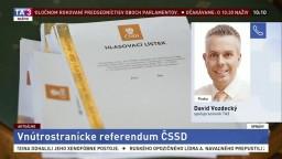 D. Vozdecký a J. Kubáček o referende ČSSD