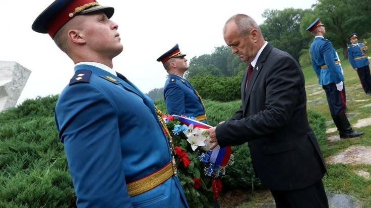 Gajdoš si v Srbsku pripomenul výročie Kragujevskej vzbury