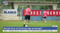 Futbalisti Serede sa pripravujú na premiérovú sezónu vo Fortuna lige