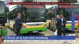 Žilinská MHD zavádza novinku, nakúpila hybridné autobusy