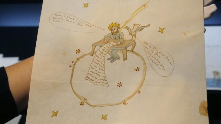 Vydražili zrejme posledný ľúbostný list spisovateľa Saint-Exupéryho