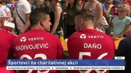 Elitní športovci sa predstavili v Trenčíne, hostiteľom bol Hossa