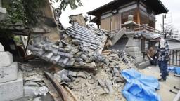 Mŕtvi a vyše 300 zranených. Japonsko zasiahlo zemetrasenie