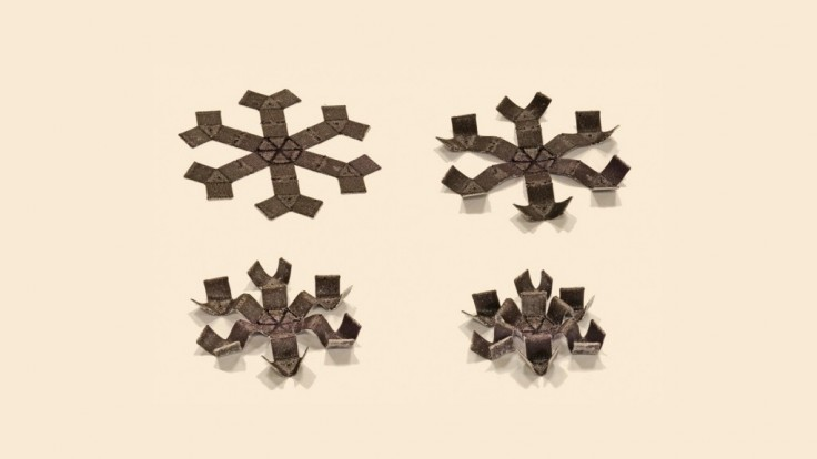 Magnetické 3D tlačené objekty sa pohybujú, rolujú a skáču