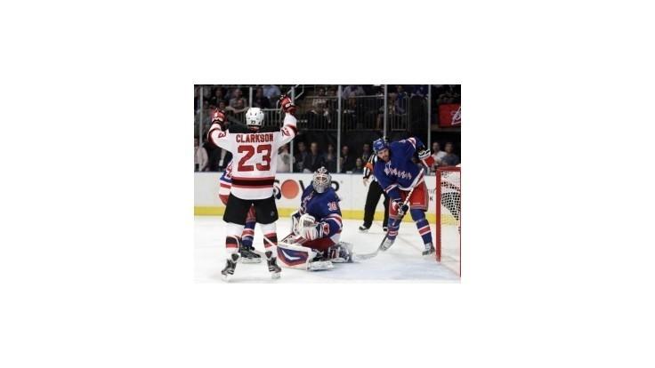 NHL: New Jersey víťazne na ľade NY Rangers