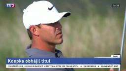 Koepka obhájil titul na golfovom US Open