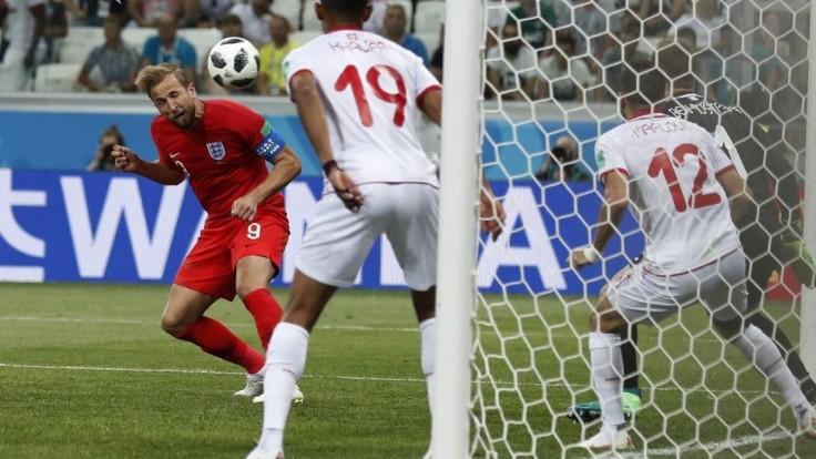 Anglicko zlomilo Tunisko až v závere stretnutia, rozhodol Kane