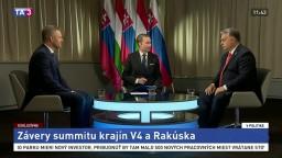 Orbán pre TA3: S národne cítiacimi politikmi sa dobre spolupracuje