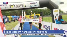 Triatlon Tour sa presunul na Záhorie, hlavnú kategóriu ovládol Šimko