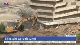 Minister skontroloval výstavbu obchvatu, chystajú sa raziť tunel