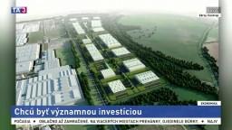 Chcú postaviť výrobný park, potrebujú byť významnou investíciou