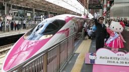 Ružový vlak ikonickej kreslenej postavičky predstavili v Japonsku