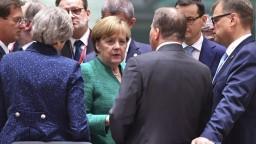 Merkelová rokovala s lídrami o migrácii, Slovensko vynechala