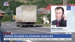 M. Dušička o súťaži na úsek R2 Kriváň-Mýtna
