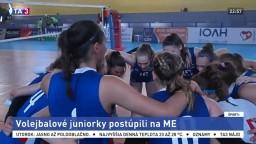 Volejbalové juniorky suverénne zvíťazili a postúpili na ME