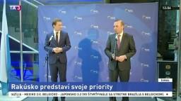 Rakúsko v predsedníctve EÚ strieda Bulharsko, predstavilo priority