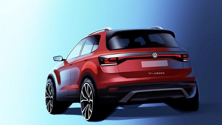 Volkswagen ukázal malý T-Cross na prvej upútavke