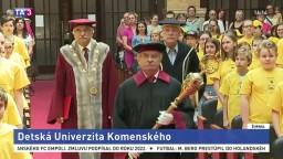Detská Univerzita Komenského privítala stovky malých študentov