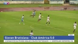 Slovan nedal mladíkom z Mexika šancu, zdolal ich piatimi gólmi