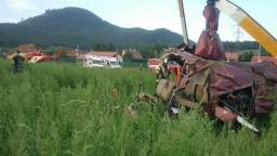 Pri Prešove došlo k havárii vrtuľníka, jedna osoba neprežila