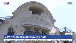 V Paríži otvoria ikonický hotel, ktorý preslávili svetové osobnosti